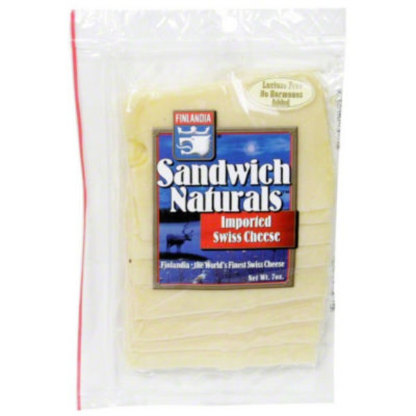 Finlandia Natural Deli Slices Swiss Cheese