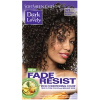Dark and Lovely Fade Resistant Rich Conditioning Color 372 Natural Black Hair Color