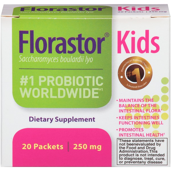 Florastor Kids Probiotic 250mg Packets Dietary Supplement