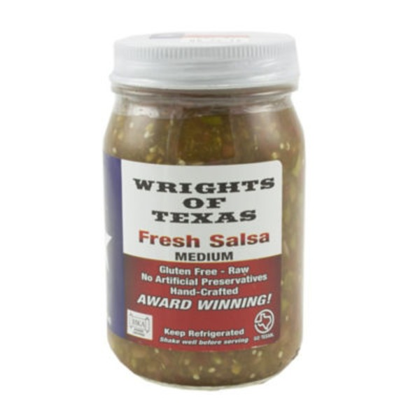 Wrights Of Texas Original Fresh Salsa