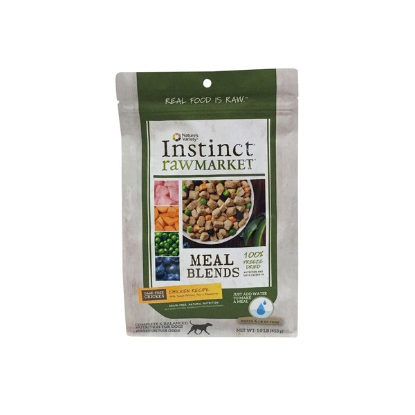 Nature's Variety Dog Instinct Food Raw Market Chicken