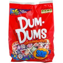 Dum-Dums Original Pops Assorted Flavors - 300 CT