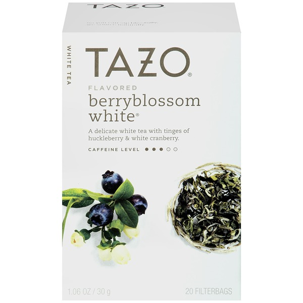 Tazo Tea White Tea Flavored Berryblossom White® Tea Bags
