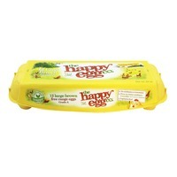 The Happy Egg Co Large Brown Free Range Eggs Grade A