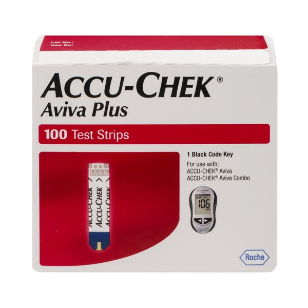 Accu-Chek Aviva Plus Test Strips - 100 CT