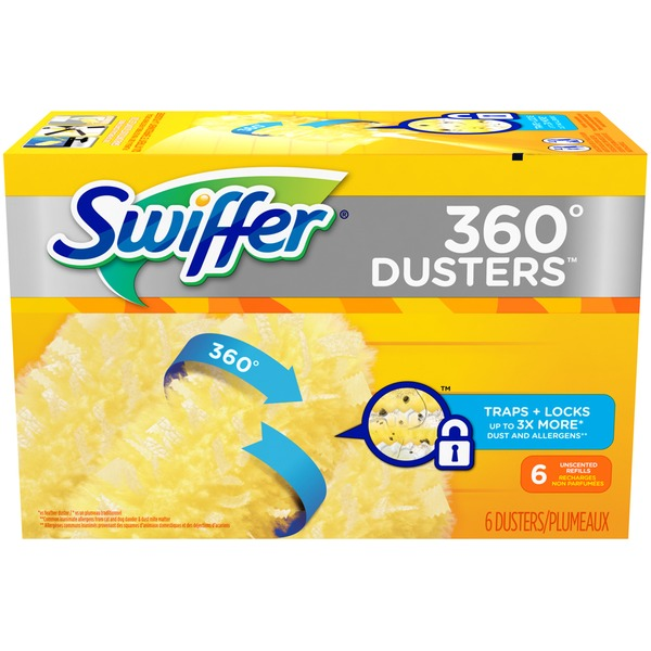 Swiffer 360° Dusters Unscented Dusters