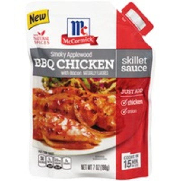 McCormick Applewood BBQ Chicken Skillet Sauce