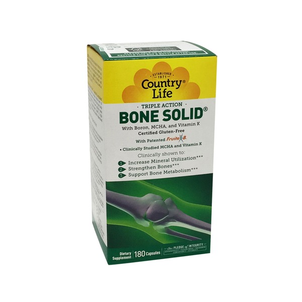 Country Life Bone Solid Capsules
