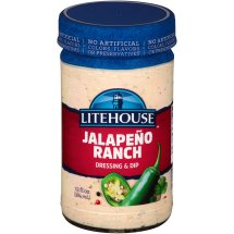Litehouse Jalapeno Ranch Dressing & Dip 13 Fl Oz Jar