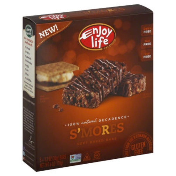 Enjoy Life Soft Baked Bars S'mores - 5 CT