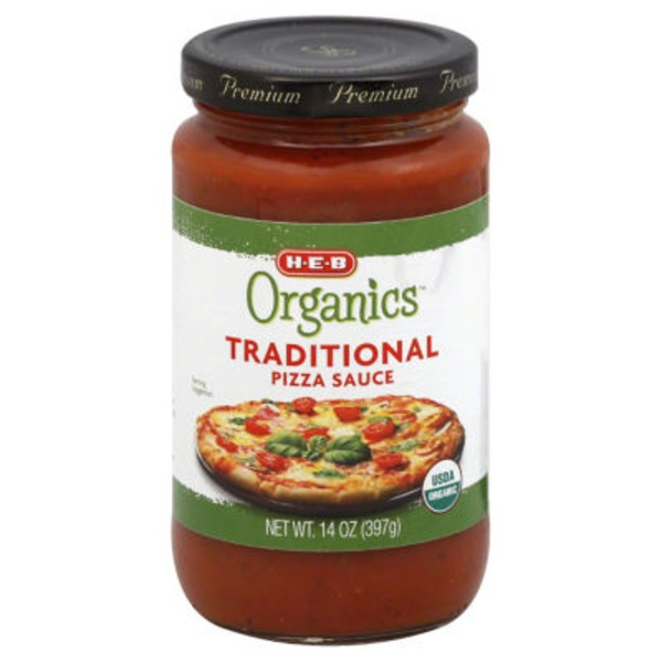 H-E-B Organics Traditional Pizza Sauce