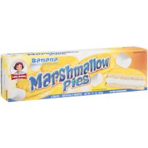 Little Debbie Snacks Banana Flavored Marshmallow Pies, 8ct