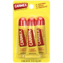 Carmex Lip Balm Medicated - 3 PK