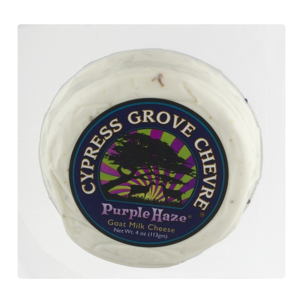 Cypress Grove Chevre Purple Haze, Goat Milk Cheese