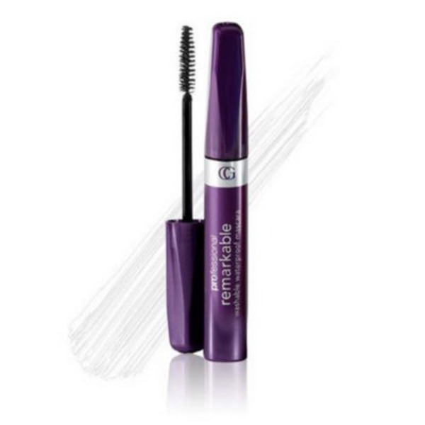 CoverGirl Professional Remarkable COVERGIRL Professional Remarkable Waterproof Mascara Very Black 0.3 fl oz (9 ml) Female Cosmetics