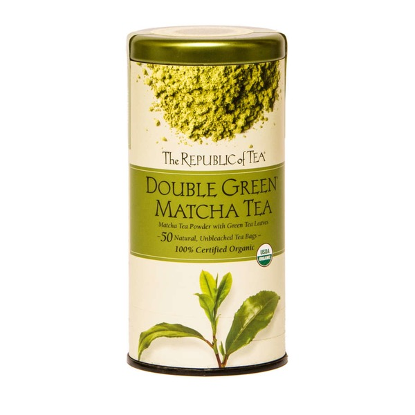 The Republic of Tea Organic Double Green Matcha