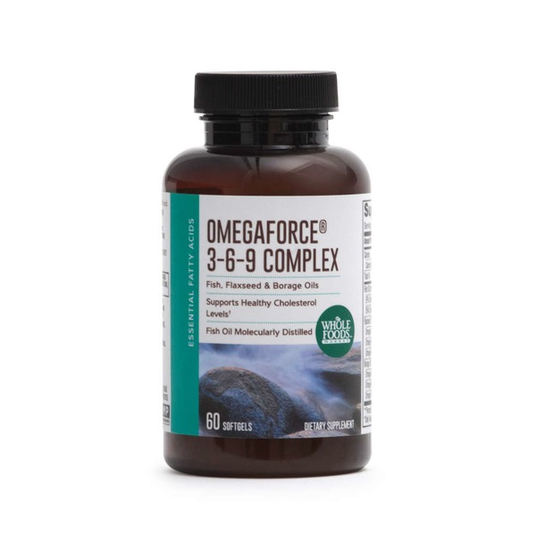 Whole Foods Market Omega Force 3-6-9 Complex