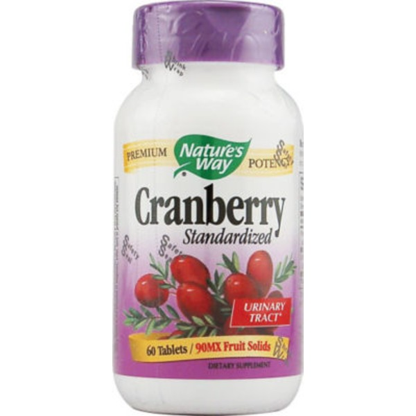Nature's Way Cranberry Standardized Supplements