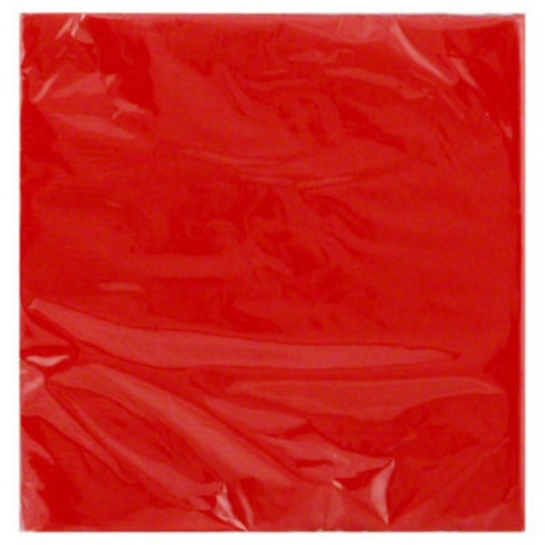 Unique Napkins, Beverage, Red, 2 Ply