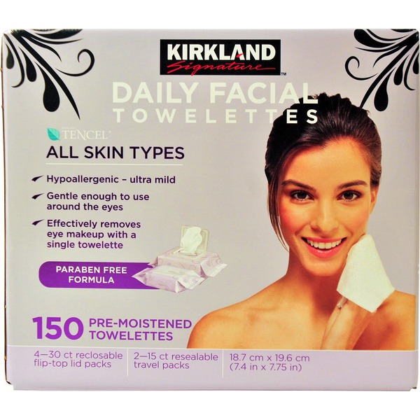 Kirkland Signature Daily Facial Cleansing Towelettes