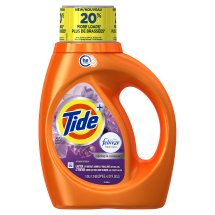 Tide Plus Febreze Freshness Spring And Renewal Scent HE Turbo Clean Liquid Laundry Detergent, 37 oz, 24 loads