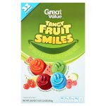 Great Value Tangy Fruit Smiles, 28.8 oz, 32 Count