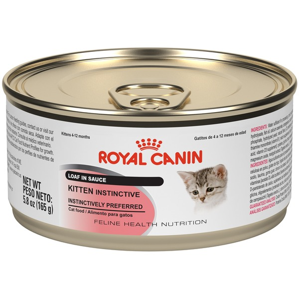 Royal Canin Feline Health Nutrition Kitten Instinctive Loaf in Sauce Wet Cat Food