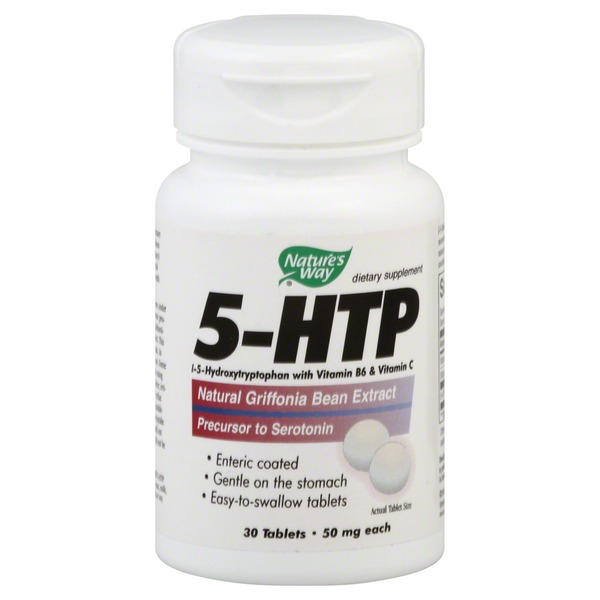 Nature's Way 5-HTP, 50 mg, Tablets