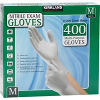 Kirkland Signature Medium Multipurpose Nitrile Exam Gloves