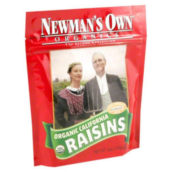 Newman's Own 6oz Raisins