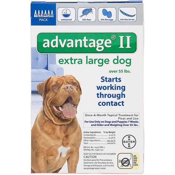 Advantage Ii Once A Month Topical Extra Large Dog Flea Treatment