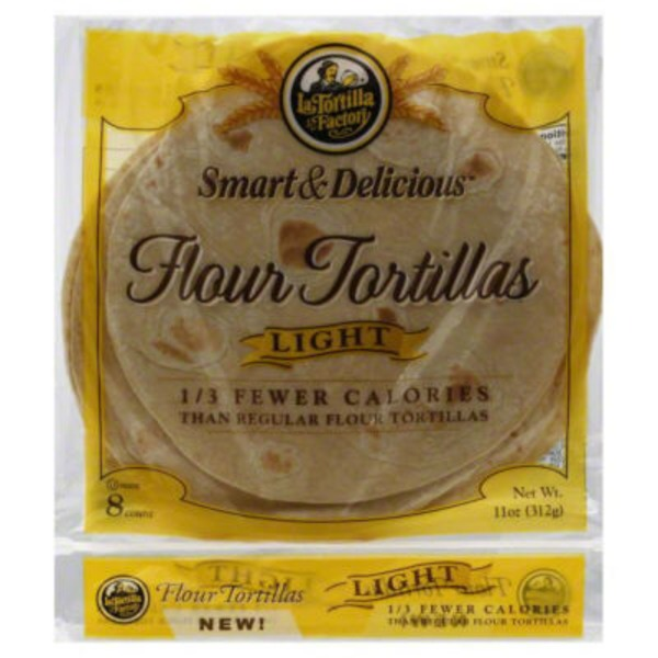 La Tortilla Factory Smart & Deliciouis Light Flour Tortillas