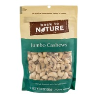Back to Nature Jumbo Cashews