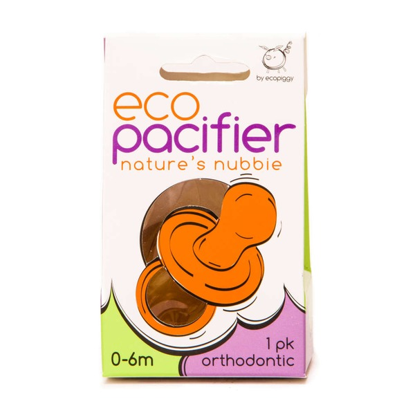 Eco Pacifier Nature's Nubbie 0-6 Month