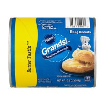 Pillsbury Grands!™ Refrigerated Low Fat Biscuits Southern Homestyle Butter Tastin' 5 ct 10.2 oz Can, 10.2 OZ