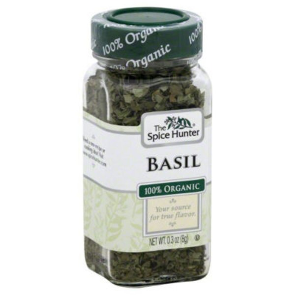 The Spice Hunter 100% Organic Basil