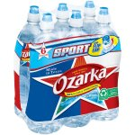 OZARKA Brand 100% Natural Spring Water, 23.7-ounce plastic sport cap bottles (Pack of 6)