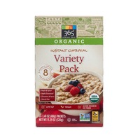 365 Organic Instant Oatmeal Variety