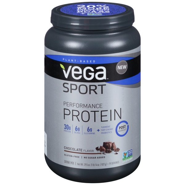 Vega Sport Performance Protein Chocolate Flavor Drink Mix