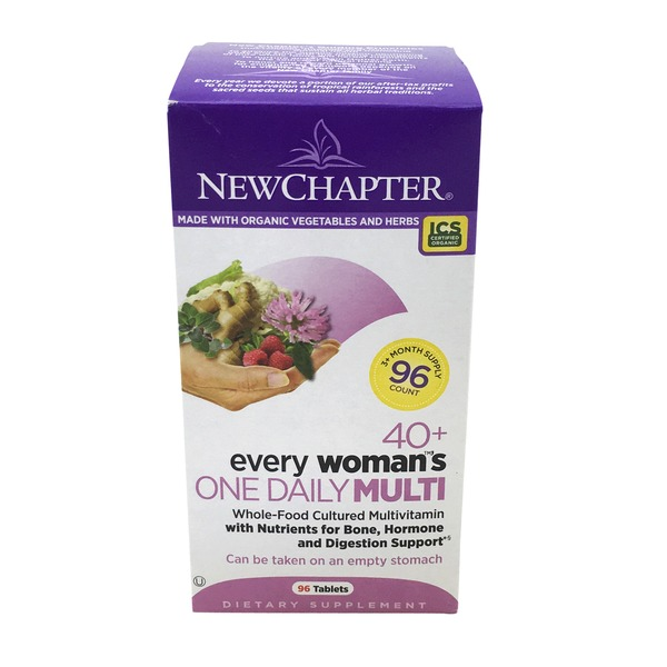 New Chapter Every Woman's One Daily 40 Plus