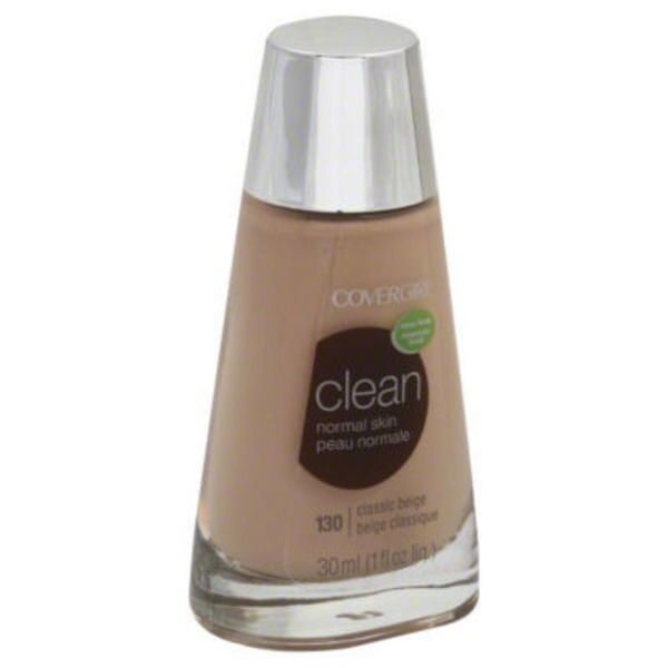CoverGirl Clean COVERGIRL Clean Makeup Foundation, Classic Beige 1 fl oz (30 ml) Female Cosmetics