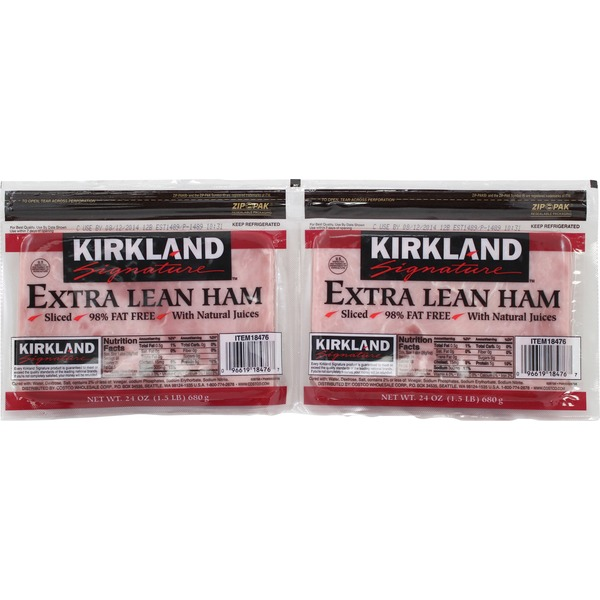Kirkland Signature Sliced Ham
