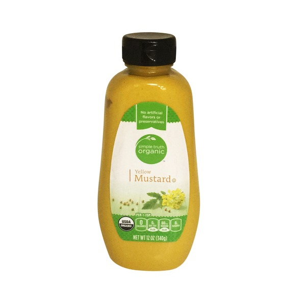 Simple Truth Organic Yellow Mustard