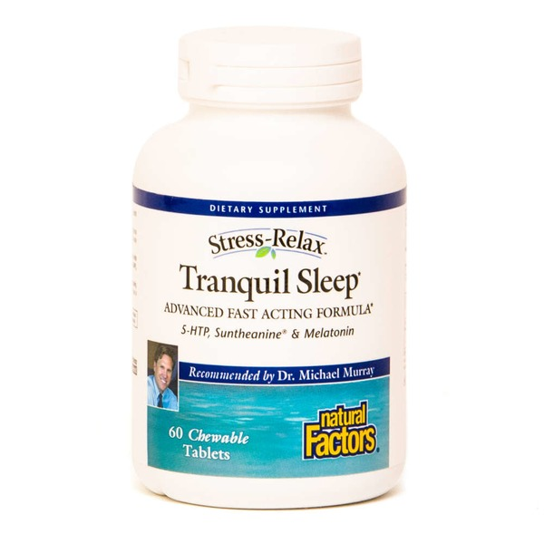 Natural Factors Tranquil Sleep Chewable Tablets