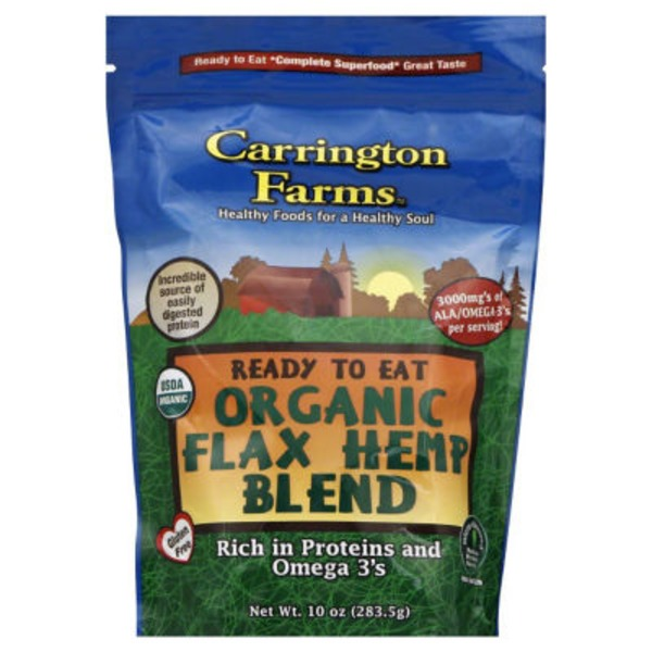 Orrington Farms Ready to Eat Organic Flax Hemp Blend