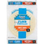 Great Value Flour 8' Medium Soft Taco Tortillas, 8 ct