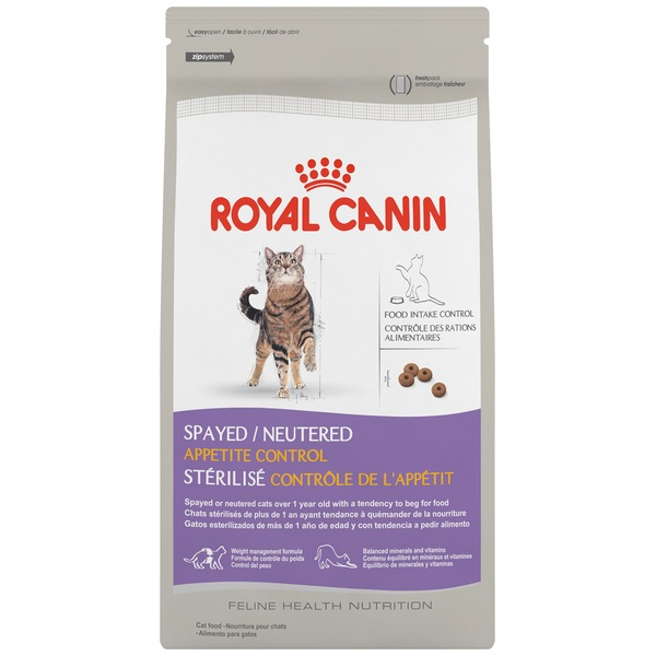 Royal Canin Feline Health Nutrition Spayed/Neutered Appetite Control Cat Food