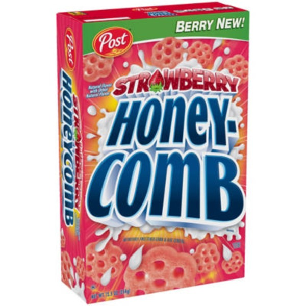 Honeycomb Strawberry Cereal