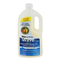 Earth Friendly Products 2X Ultra High Efficiency Wave Auto Dishwasher Gel Free & Clear