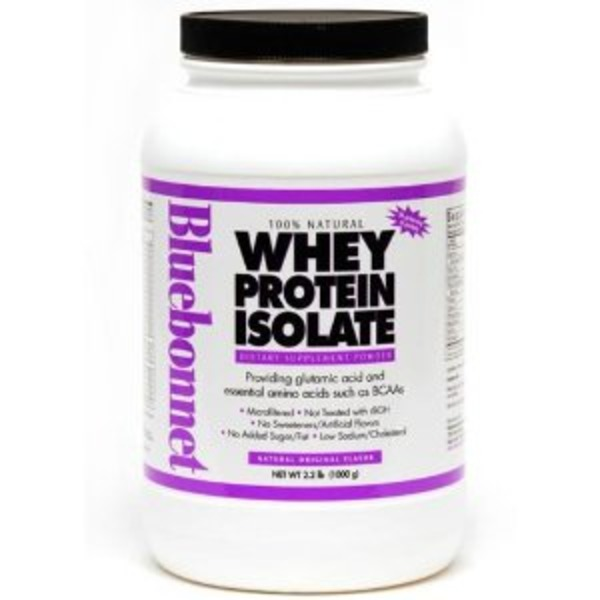 Bluebonnet Nutrition Whey Protein Isolate Natural Strawberry Flavor
